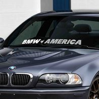 BMW of America Windshield Banner