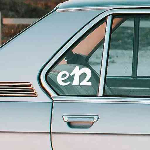 Sticker for BMW e12. Available in different colors. Contour cut from premium outdoor vinyls. Never fades out.