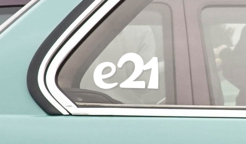 BMW e21 vinyl sticker