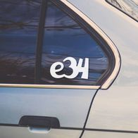 BMW e34 sticker