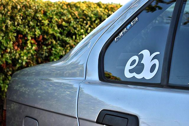 BMW e36 drift stance sport vinyl sticker