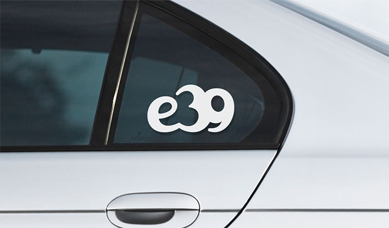 BMW e39 vinyl sticker