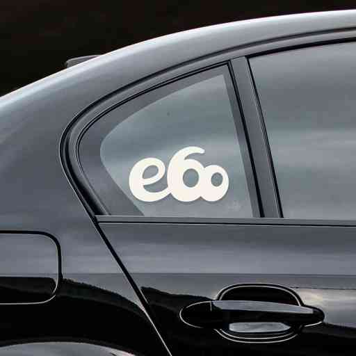 Sticker for BMW e60. Available in different colors. Contour cut from premium outdoor vinyls. Never fades out.