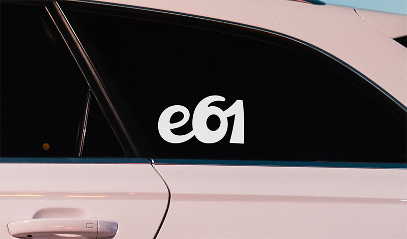 BMW e61 vinyl sport drift stance sticker