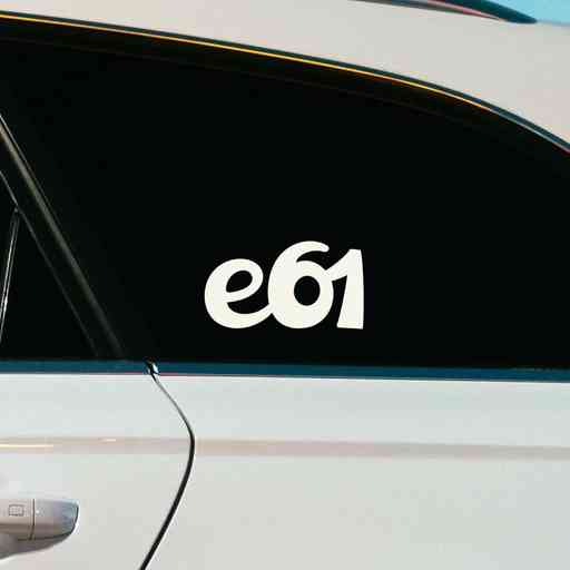 Sticker for BMW e61. Available in different colors. Contour cut from premium outdoor vinyls. Never fades out.