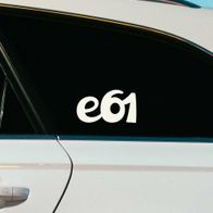 BMW e61 sticker