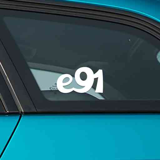 Sticker for BMW e91 touring. Available in different colors. Contour cut from premium outdoor vinyls. Never fades out.