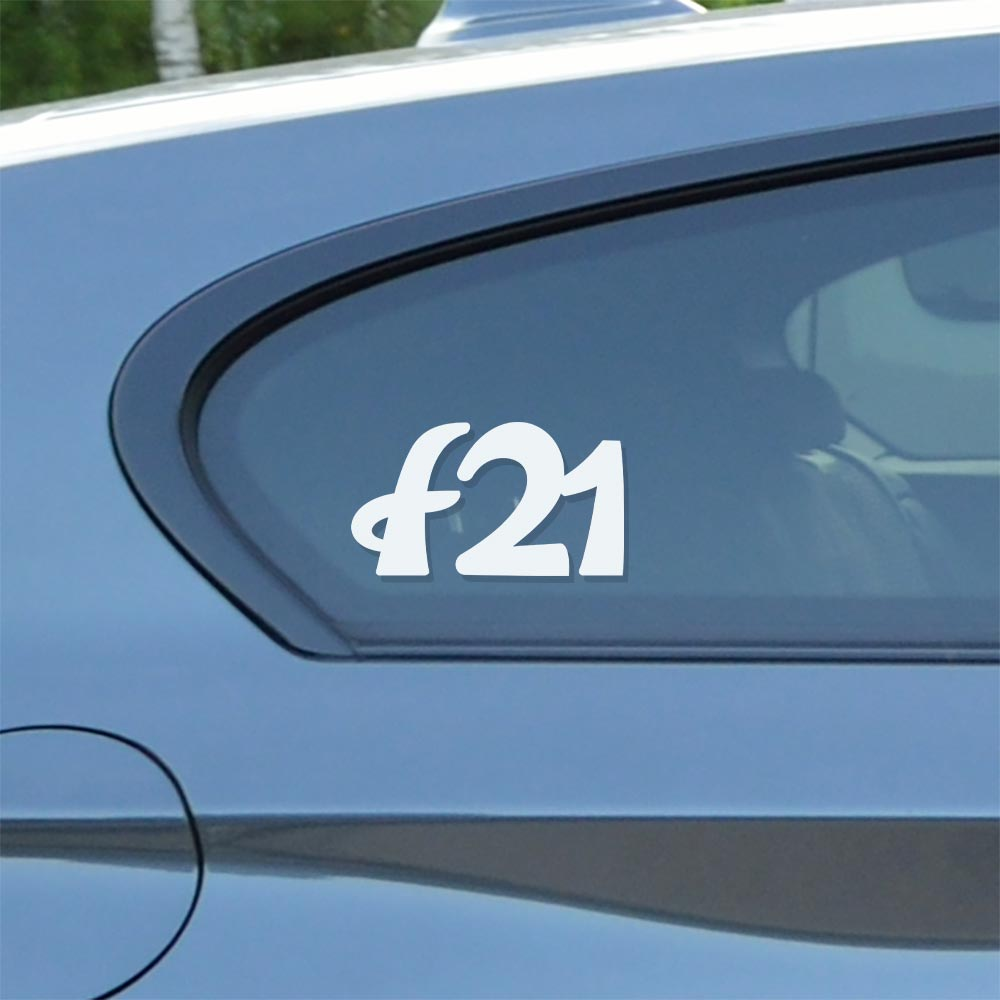 Sticker for BMW f21. Available in different colors. Contour cut from premium outdoor vinyls. Never fades out.