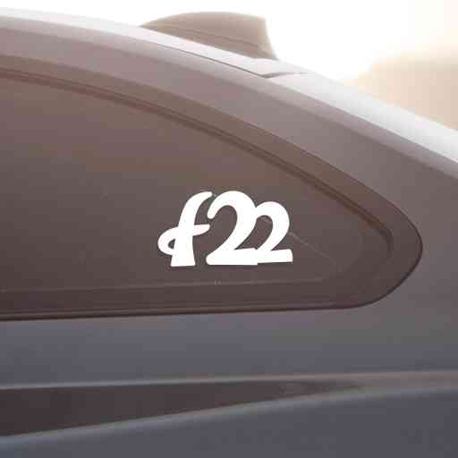 Sticker for BMW f22. Available in different colors. Contour cut from premium outdoor vinyls. Never fades out.
